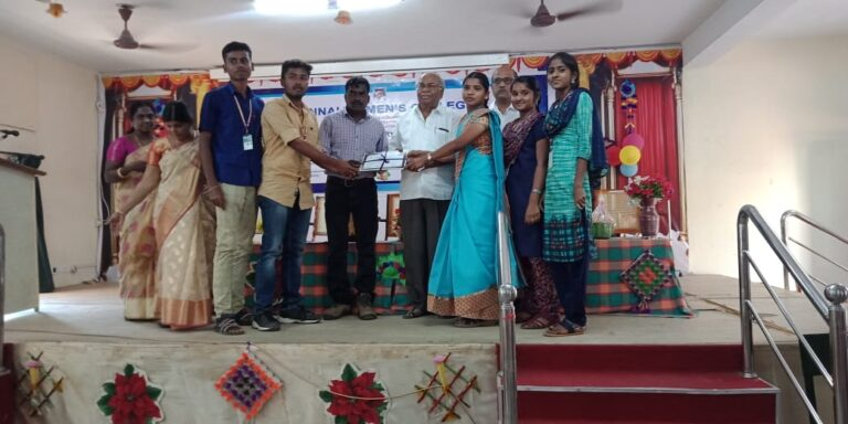 Participated in the International seminar at Annai Women's College